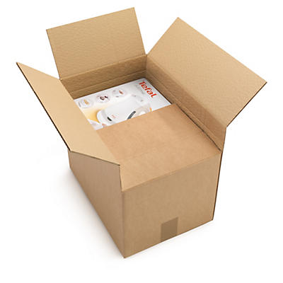 Adjustable double wall cardboard boxes