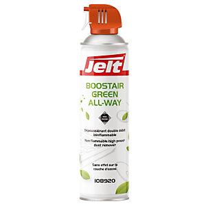 Aérosol  de 650 ml dépoussiérant Boostair Green toutes positions Jelt