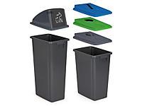 Afvalscheidingsbakken