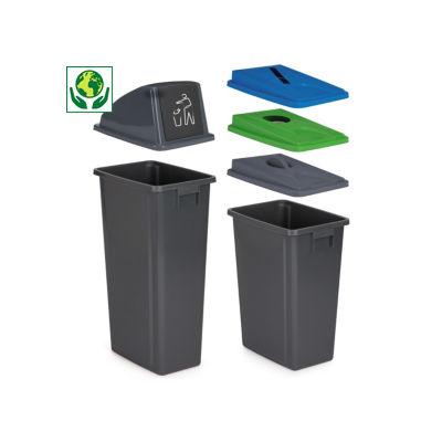 Conteneur pour tri de déchets##Afvalscheidingsbakken