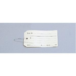 AGIPA Étiquettes américaines à œillet avec fil d'attache -120 x 60 mm