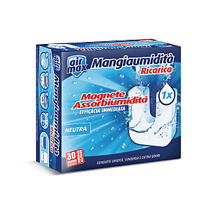 AIR MAX Ambiance, Ricarica Magnete Mangiaumidità, Neutra, 450 g