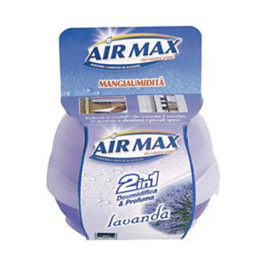 AIR MAX Mangiaumidità Profumatore d'ambiente 2 in 1, Lavanda, 40 g