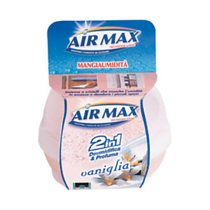 AIR MAX Mangiaumidità Profumatore d'ambiente 2 in 1, Vaniglia, 40 g