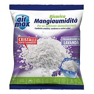 AIR MAX Ricarica per Mangiaumidit&agrave, Profumatore d'ambiente Lavanda 450 g