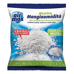 AIR MAX Ricarica per Mangiaumidit&agrave, Profumatore d'ambiente Neutro 450 g