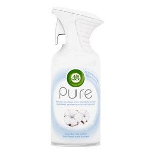 Air Wick Désodorisant aérosol Pure - 250 ml - Douceur de Coton