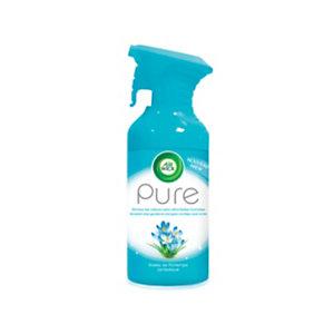Air Wick Désodorisant aérosol Pure - 250 ml - Rosée de Printemps