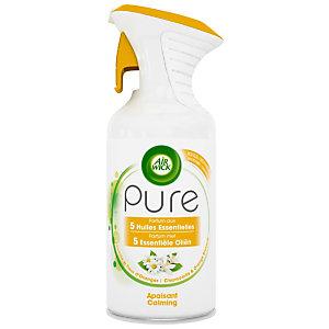Air Wick Désodorisant aérosol Pure aux huiles essentielles,  Fleur d'oranger - 250 ml