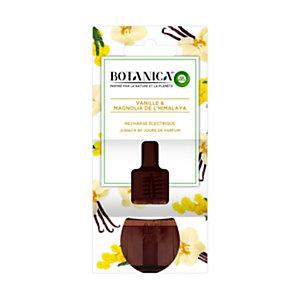 Air Wick Recharge pour diffuseur électrique Botanica parfum Magnolia de l'Himalaya et Vanille - Flacon 19ml