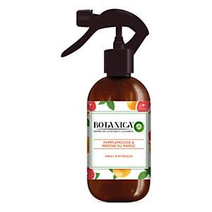 Air Wick Spray d'intérieur Botanica parfum Menthe et Pamplemousse - Flacon 237ml