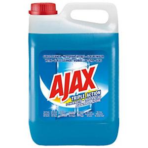 Ajax Nettoyant vitre triple action sans parfum - Bidon  5 L