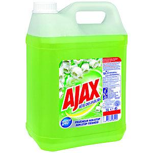 Ajax Produit nettoyant Fête des Fleurs de Printemps - Bidon de 5 L