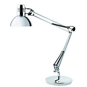 Alba Architetto Lampada LED da tavolo, Cromato