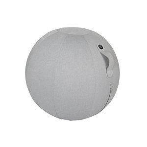 Alba Ergo Ball - Siège ballon ergonomique pour bureau - Housse tissu Gris