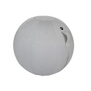 Alba Ergoball Bola ergonómica fisioterapeútica, tejido poliéster, 65 cm, gris