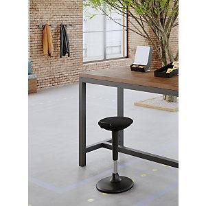 Alba Flexy Tabouret ergonomique assis-debout - Noir