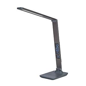 Alba Lampada LED da tavolo Led Viva, Grigio antracite