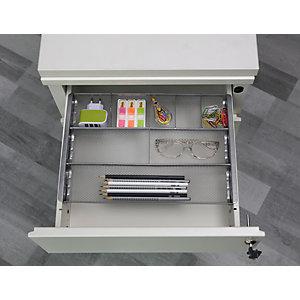 Alba organisateur de tiroir MESHORG en métal gris