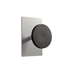 ALBA Patère magnétique ALBA - noir / métal