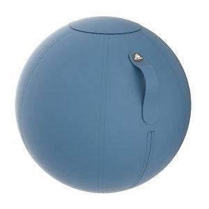 Alba Siège ballon ergonomique Ergo Ball, ballon PVC et housse en tissu 100% polyester, diamètre 65 cm - coloris Jaune Safran