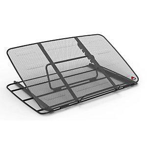 Alba Supporto ergonomico per notebook MeshStand, Nero