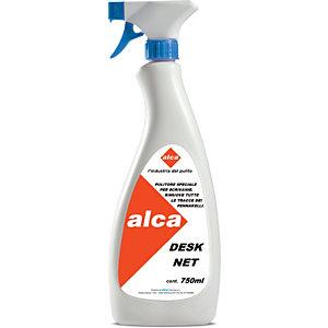 ALCA Desknet Detergente smacchiatore per piani di lavoro, Flacone spray da 750 ml