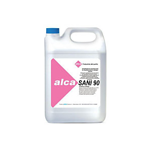 ALCA Detergente sanitizzante ultraprofumato SANI90, Idoneo HACCP, Tanica 5 l