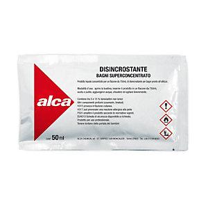 ALCA Kit 10 bustine monodose da 50 ml Disincrostante Bagni Superconcentrato + Flacone spray da 750 ml