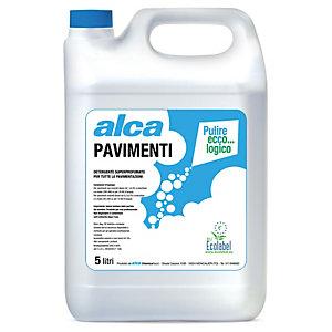 ALCA Pavimenti Detergente Multiuso profumato Ecolabel, Tanica 5 l