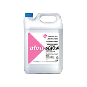 ALCA Sapone lavamani igienizzante IGIENDERMO, Idoneo HACCP, Tanica 5 l