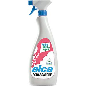 ALCA Sgrassatore rapido per cucine Ecolabel, Flacone spray 750 ml
