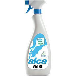 ALCA Vetri Pulitore rapido vetri Ecolabel, Flacone 750 ml