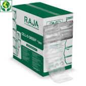 Almofadas de ar ecológicas Green em caixa distribuidora