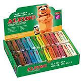 ALPINO Dacs Expositor de plastilina 50 g colores surtidos