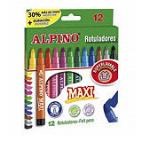ALPINO Maxi Rotuladores colores surtidos