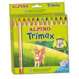 ALPINO Trimax Lápices de colores con mina de 5,4 mm