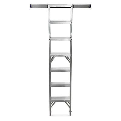 Aluminium shelf ladders