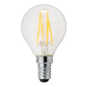 Aluminor Luminaires Ampoule LED à filament 4W - culot E14, 470 lumens, 2700K, Classe A++