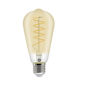 Aluminor Luminaires Ampoule LED à filament Edison Vintage 5,5W - culot E27, 250 lumens, 2000K, Classe A