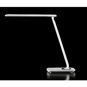 Aluminor Luminaires Lampe de bureau LED Bob, Puissance 7W,  Durée 30 000h, Blanc Laqué