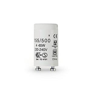 Aluminor Luminaires Starter universel pour tube fluo T8 – Culot G13 – 4 à 65 Watts – Carton de 25