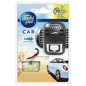 Ambi Pur Car Deodorante per auto, Vaniglia, 7 ml