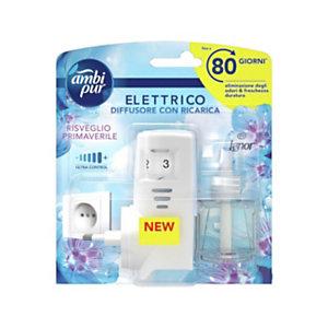 Ambi Pur Starter Kit Diffusore elettrico monofragranza con fragranza Risveglio Primaverile