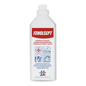 AMUCHINA Disinfettante Detergente per superfici Fenolsept, Presidio Medico Chirurgico, Profumo Marsiglia, Flacone 1 l