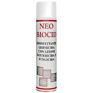 AMUCHINA Disinfettante Germicida con azione antibatterica e Fungicida Neobiocid, Presidio Medico Chirurgico, Bomboletta spray 400 ml