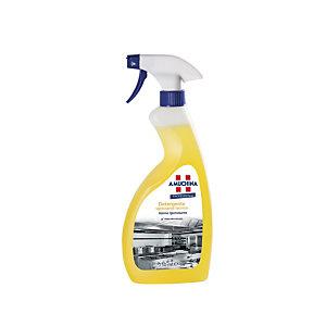 AMUCHINA Professional Detergente Sgrassante Tecnico Azione igienizzante, Flacone spray 750 ml