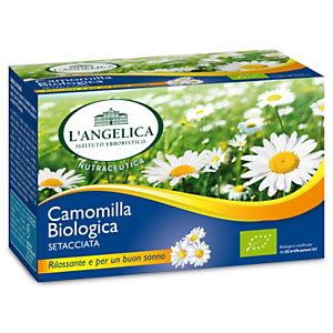 L`ANGELICA Camomilla Bio setacciata (confezione 20 filtri)