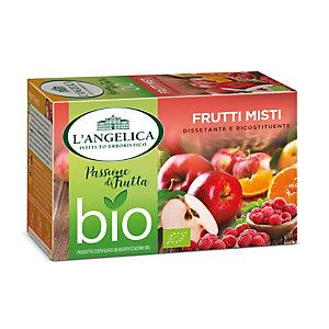 L`ANGELICA Infuso biologico, Gusto frutti misti (confezione 15 filtri)