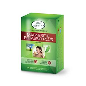 L`ANGELICA Integratore Magnesio e Potassio Plus (confezione 20 bustine)